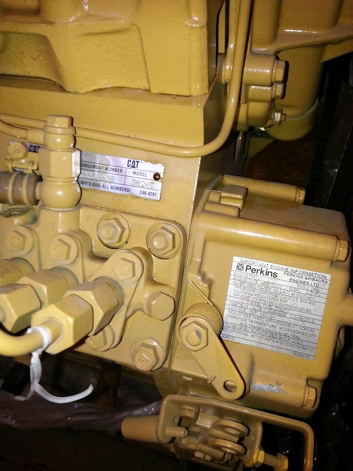 Stocklot Caterpillar engines - Stock Italy Srl