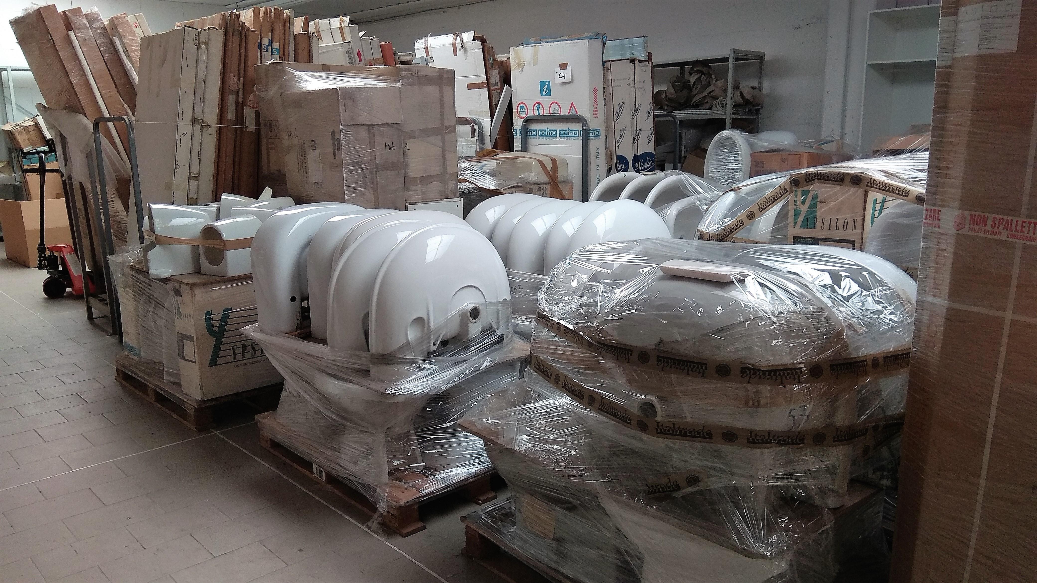 Stocklot sanitary ware - Stock Italy Srl