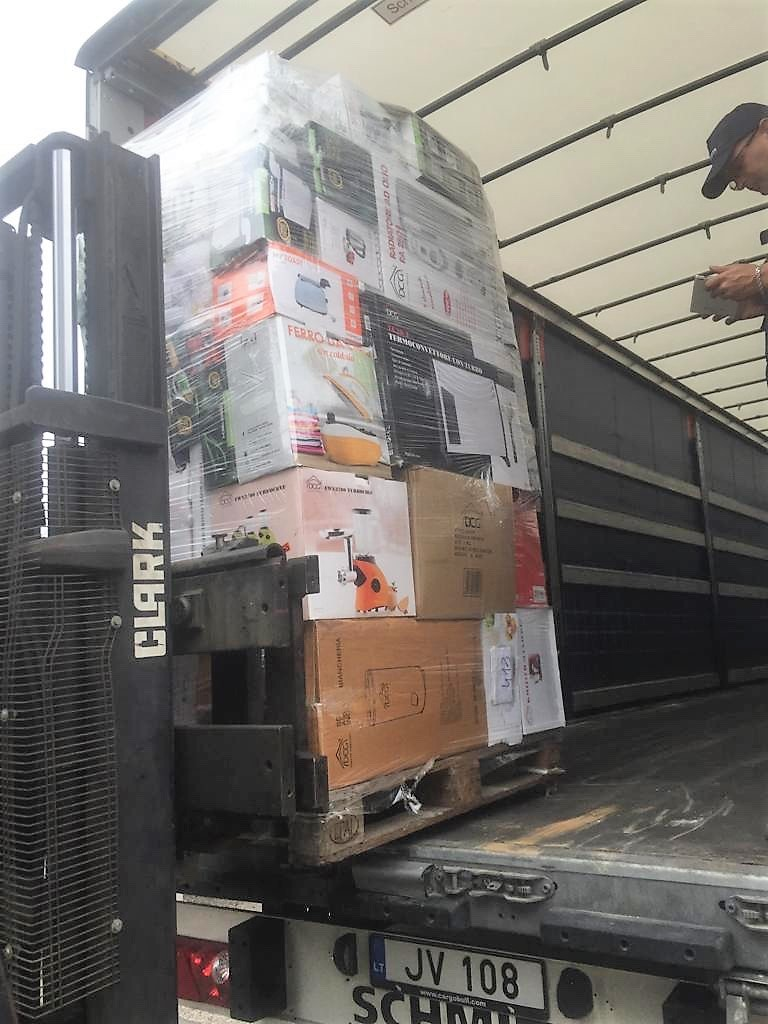 Stocklot small and big appliances - Stock Italy Srl